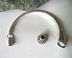 4 sady magnetických médií starožitné silver zavírací Manžeta 3 mmRound zjištění kožený náramek šperky a klenoty součásti a příslušenství pro AliExpress.com | Alibaba Group