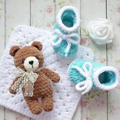 New Knitting Blanket Kids Yarns Ideas Easy Crochet Patterns, Amigurumi Patterns, Knitting Patterns Free, Baby Knitting, Free Pattern, Knit Stitches For Beginners, Yarn Storage, Crochet Bear, Crochet Shoes