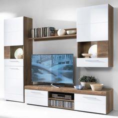 Tv Wall Design, Design Case, House Design, Teenage Room Decor, Home Decor Inspiration, My Room, Minimalism, Living Room, Interior Design