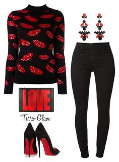 More Love by terra-glam on Polyvore featuring polyvore fashion style Yves Saint Laurent Christian Louboutin Givenchy clothing