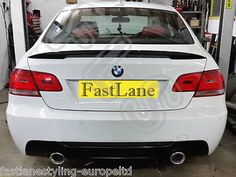 Bmw e93 335 look #custom #built stainless #steel exhaust cat back dual system, View more on the LINK: http://www.zeppy.io/product/gb/2/172024156469/