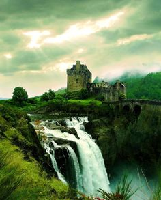 Waterfall Castle, The Enchanted Mountains