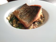 Sea trout on seafood broth #healthfood