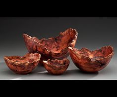 Rudolph Lopez - Elm Burl Nested Wooden Art, Wooden Bowls, Turned Wood, Wood Turning Projects, Photography Gallery, Woodturning, Decorative Bowls, Cool Designs, Objects