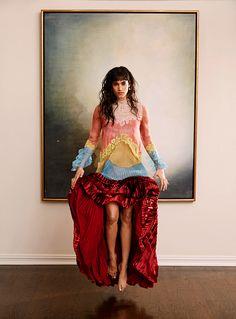 Sofia Boutella photographed by Mona Kuhn for C Style Magazine