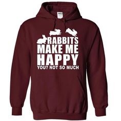 Rabbits Make Me Happy You? Not So Much in Maroon