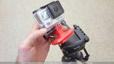 GoPro Tripod Quick-Release Plate Adapter Mount (Hama-comaptible) 3D Printing 42616
