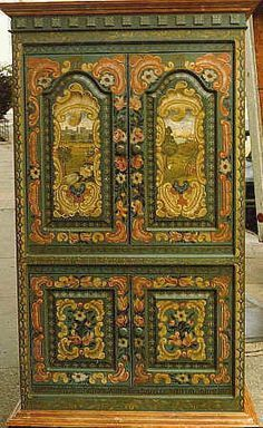 classical european painting furniture 18th century - Google Search