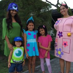 Monster's, Inc- Boo's Door Costume finished product