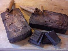 Chocolate soap / Csokis szappan Handmade Soaps, Chocolate, Chocolates, Brown
