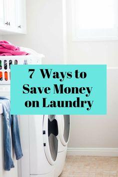 7 Ways to Save Money on Laundry
