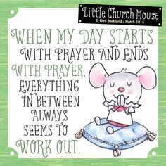 Saying a little prayer for all my followers today ^_^ ^_^ LIKE & share a Little Church Mouse to spread the mission of smiles & hope today!