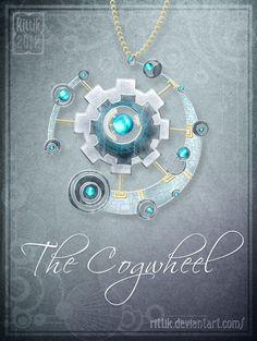 Amulet - The Cogwheel by Rittik.deviantart.com on @deviantART