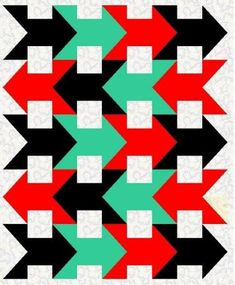 Straits and Arrows Quilt Pattern