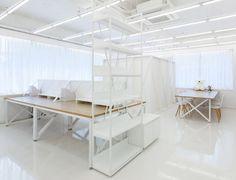 Khan Project atelier por Khan Project: um estudio de 36m2 em Seul, Coreia do Sul. Khan Project Office by Khan Project: a 36m2 studio in Seoul, South Korea.