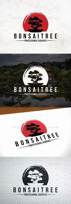 Japanese Bonsai Tree Logo