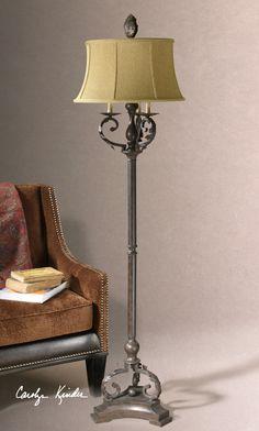 Uttermost Hope Mahogany Bronze Floor Lamp