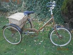 RARE CLASSIC RETRO PASHLEY ADULTS TRICYCLE TRIKE BICYCLE BIKE 3 SPEED IN DERBY Derby Picture 1