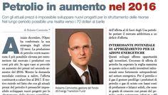 Petrolio in aumento nel 2016 di Roberto Cominotto - #scripomarket #scripofilia #scripophily #finanza #finance #collezionismo #collectibles #arte #art #scripoart #scripoarte #borsa #stock #azioni #bonds #obbligazioni