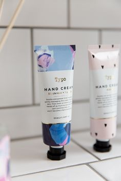 Sooth and pamper tired hands with our brand new and delicious smelling hand cream!