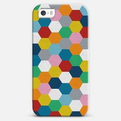 #Honeycomb   #Love! Personalize your #iPhone and#Samsung Galaxy device case using Instagram, Facebook and personal photos on #Casetagram #colorful #bee