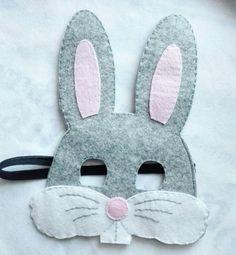 маска из фетра заяц Easter Crafts For Kids, Preschool Crafts, Diy For Kids, Nativity Costumes, Bunny Mask, Fox Crafts, Animal Masks, Sewing Art, Kids Jewelry
