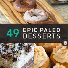 49 Paleo Desserts That Taste Anything But #paleo #dessert #recipes