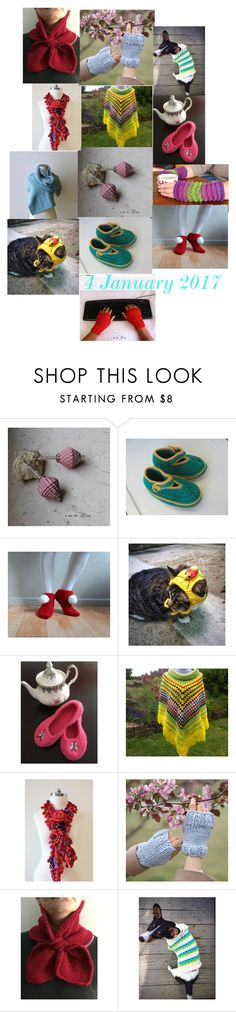 """""""crochet"""" by bizarrejewelry ❤ liked on Polyvore"""