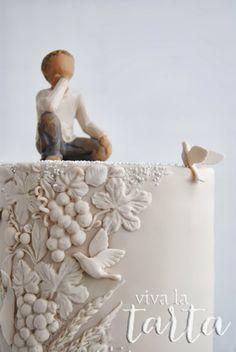 Viva la Tarta - First Communion cake