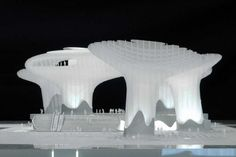Metropol Parasol, maquete do projeto, Sevilha. J. Mayer H. Architects, 2004 Foto Uwe Walter [J. Mayer H. Architects]