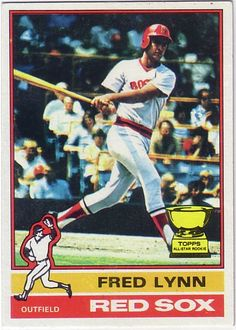 Fred Lynn-my favorite Red Sox