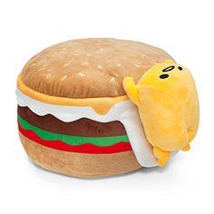 Gudetama Hamburger 12in Plush | ThinkGeek