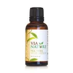 Via Nature Essential Oil 100% Pure Tea Tree Single (1x1 Fl Oz)