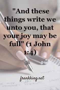 Our salvation is first and foremost. But Jesus also came that we might have fullness of joy. Not just some happiness (which is dependent on circumstances) but fullness of joy . which doesn't depend on circumstances . Biblical Quotes, Religious Quotes, Bible Verses Quotes, Spiritual Quotes, Poetry Quotes, Love The Lord, Gods Love, Holy Trinity Image, Churches Of Christ