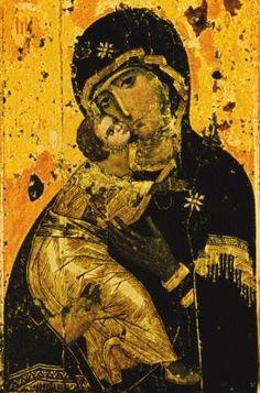 Madre de la Divina Gracia: El ícono de la Madre de Dios de Vladimir o Nuestra Señora de la Ternura