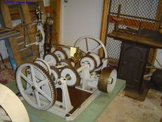 Another donated vintage water wheel governor from the Woodward Governor Company collection given to a Wisconsin museum.