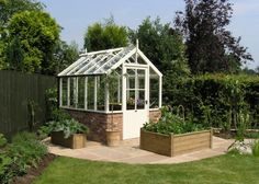 Oh, to have space for a greenhouse!