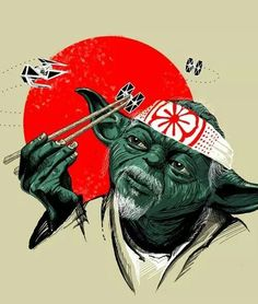 May the force sushi roll with you