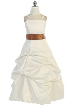 8f1a3fe48f6df Junior Bridesmaid Dresses, Up Styles, Sash, Spaghetti, Dress Ideas, Two  Piece