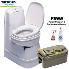 Thetford C200CW Caravan Motorhome Manual Cassette Toilet