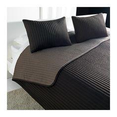 KARIT Prikrývka a obliečka na vankúš - 260x280/40x60 cm - IKEA
