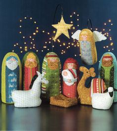 "Soft Nativity from ""Christmas Pure & Simple"" by Art·to·Heart"