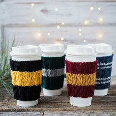 Hogwarts Themed Coffee Cozy