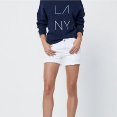 ⏰ENDS 4/18⏱Rebecca Minkoff Melrose Jean Short These weekend-ready cut-offs are casual-cool. We love the frayed hem for laid back style.  Cotton blend. Multiple sizes available. Retails $98 Rebecca Minkoff Shorts Jean Shorts