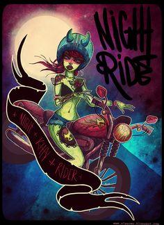 Mercenary Garage: Night Kitty  #Alexowo #Mercenary #MercenaryGarage