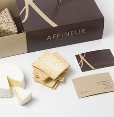 Affineur -  boutique cheese shop branding, packaging by notebox inc.