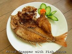Taste of Siam: Fried Red Snapper with Fish Sauce