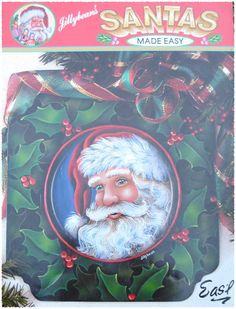 Jillybeans Santa Made Easy Painting Book by TheHowlingHag on Etsy, $9.95