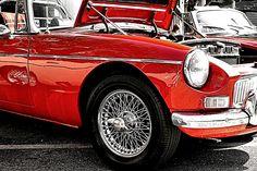 Mgb at a British Car enthusiasts Show