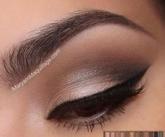 Smokey Eye Silver Glitter | Trends & Style
